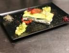 Photo Millefeuille de chèvre frais et concombres au piment d'Espelette - La Salle à Manger