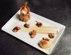 Photo Gaufrette croustillante, mousse de banane caramélisée et glace au caramel beurre salé - La Salle à Manger