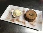 Photo Moelleux au chocolat et sorbet coco du Sri Lanka - La Salle à Manger